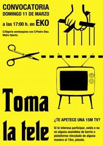 toma la tele en el Eko