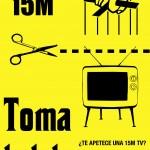 cartel Toma La Tele