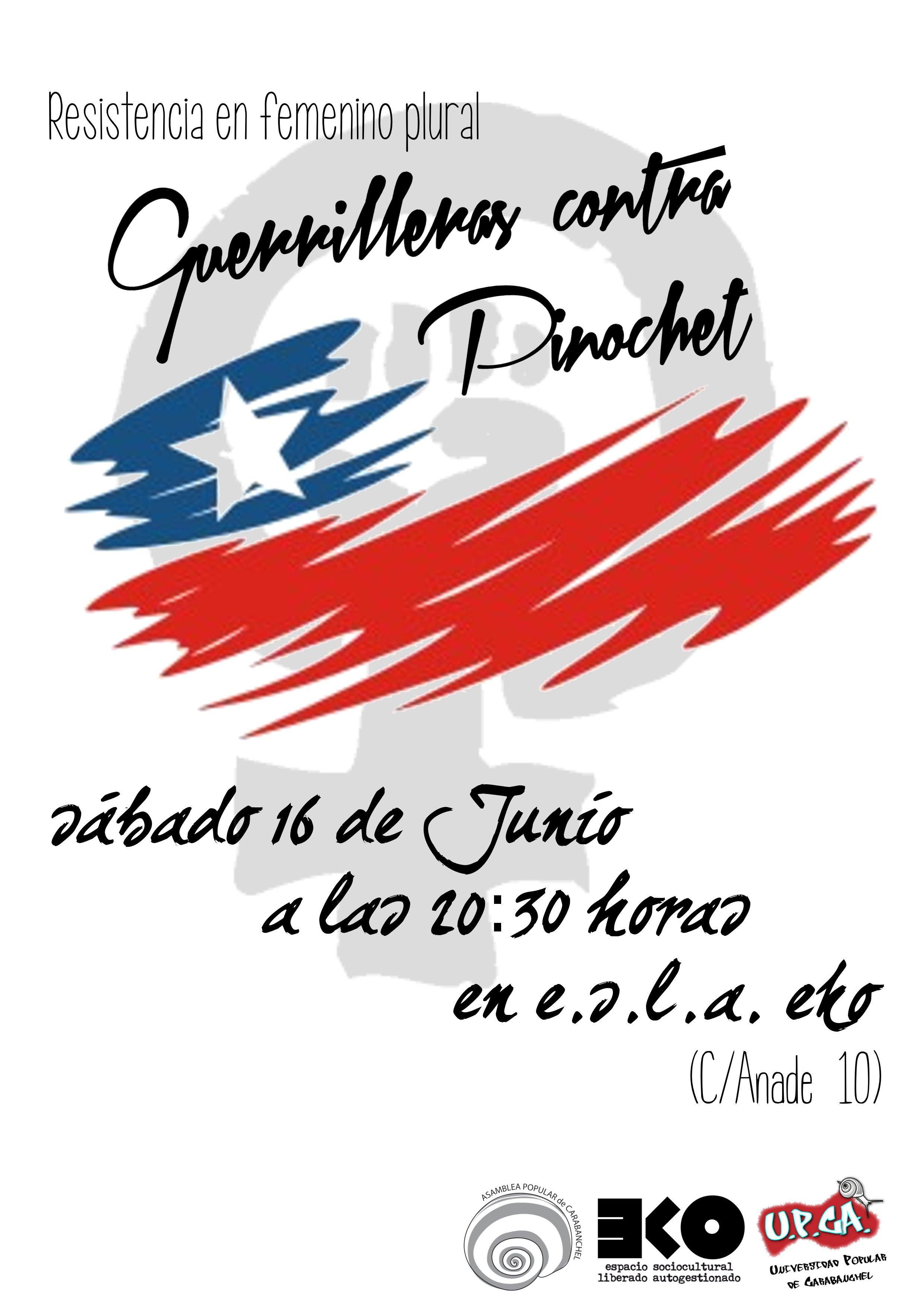 guerrilleras contra Pinochet