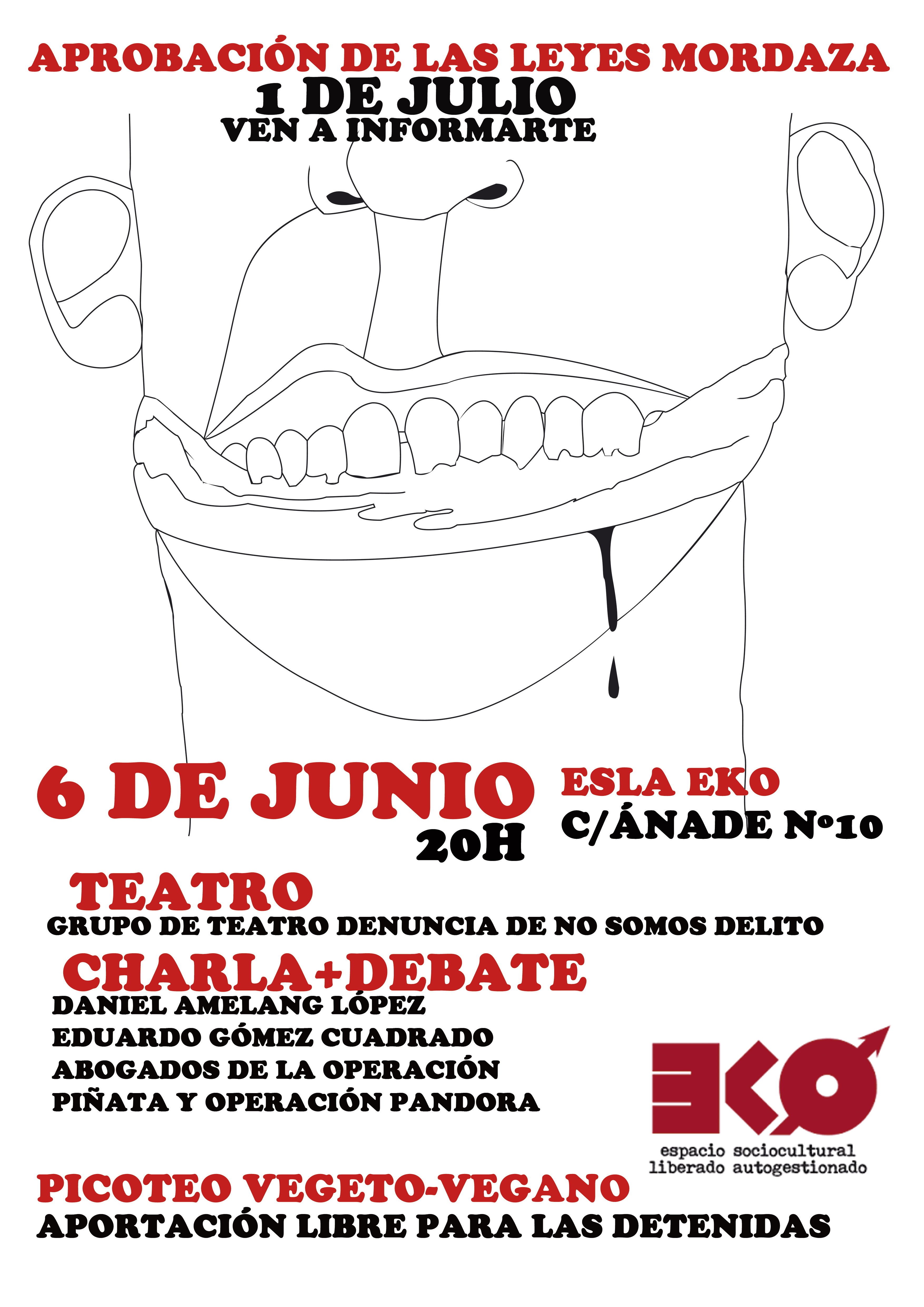 cartel 6 junio eko